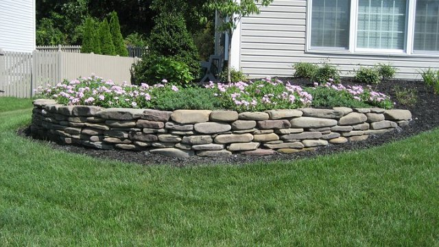 Stone retaining walls for Stone retaining wall design
